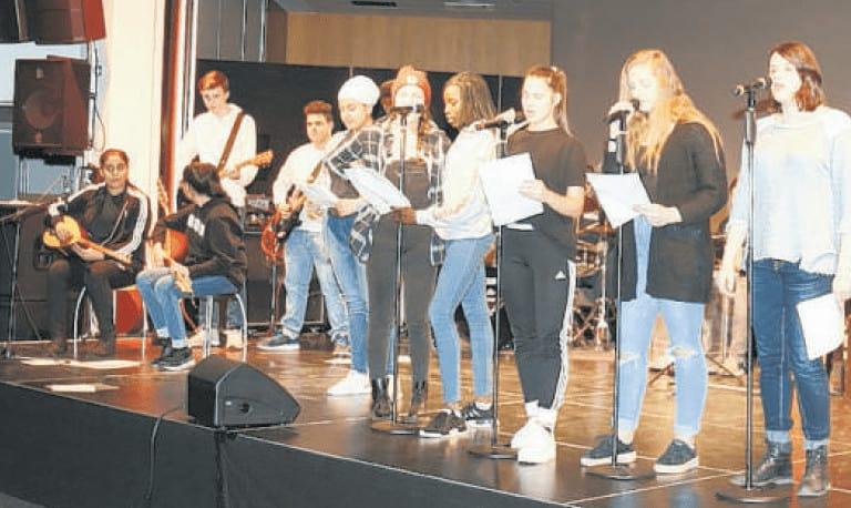 Die Horner Schüler machen ambitioniert Musik