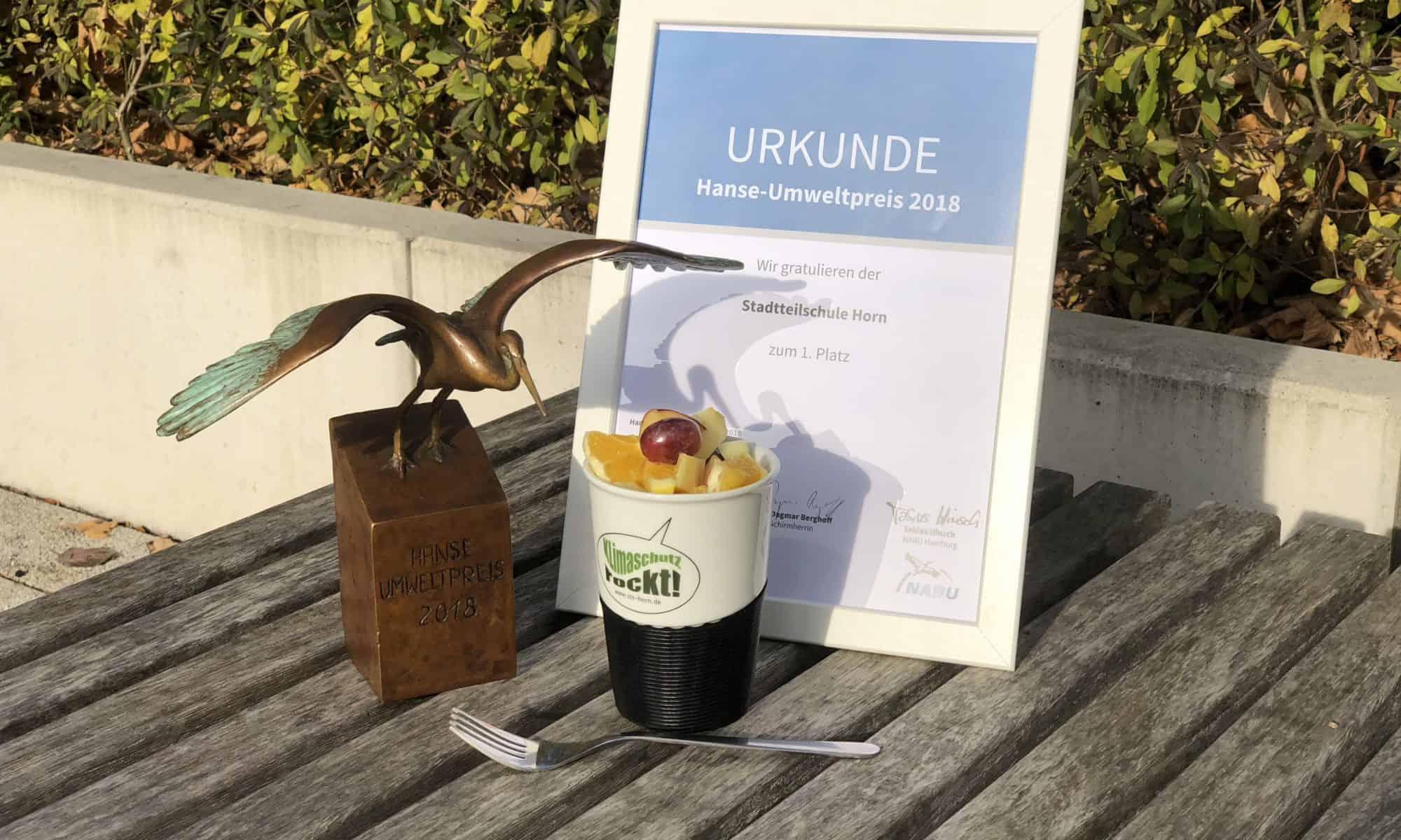 Der Hanse Umweltpreis 2018